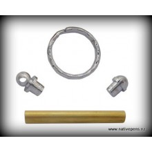 Key Ring Kit - Chrome