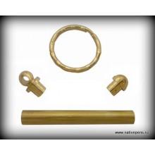 Key Ring Kit - Gold