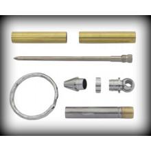 Key Ring Mini Pen Kit - Chrome