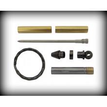 Key Ring Mini Pen Kit - Gun Metal Grey