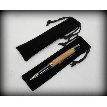 Velvet Pen Bags - Black