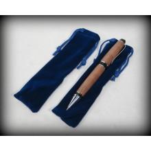 Velvet Pen Bags - Blue