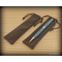 Velvet Pen Bags - Dark Grey