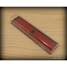 Plastic Pen Box - Red Single