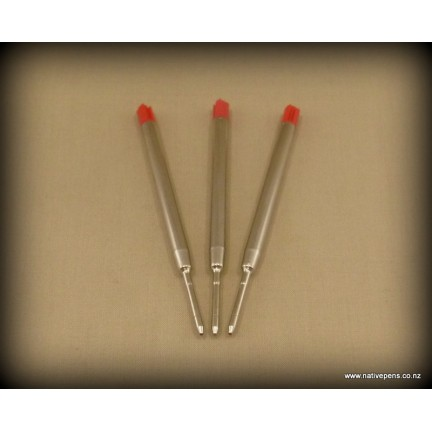 Parker Style Ball Point Refill - Red