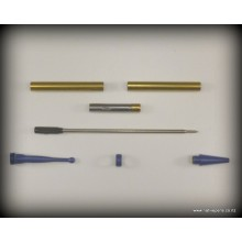 Fancy Slimline Kit - Blue Enamel