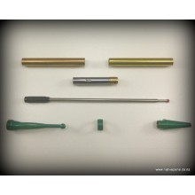 Fancy Slimline Kit - Green Enamel