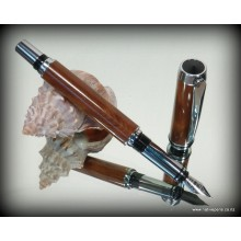 JR Gentlemans II Fountain Pen Kit - Chrome