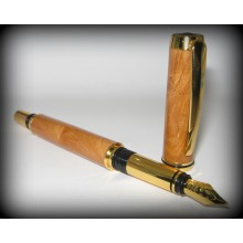JR Gentlemans II Fountain Pen Kit - Gold