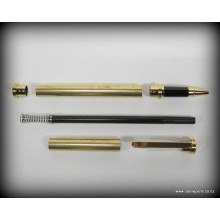 Traditional Rollerball Pen Kit - Gold
