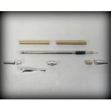 Fancy Slimline Pencil Kit - Silver