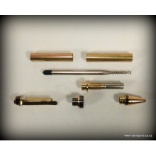 Cigar Pen Kit - Gold and Gun-Metal Grey