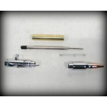 Bolt Action Bullet Pen Kit - Chrome