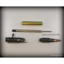 Bolt Action Bullet Pen Kit - Gun-Metal Grey