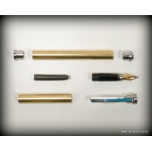Traditional Fountain Pen Kit - Chrome