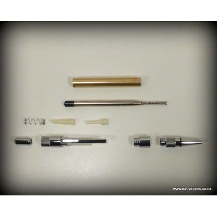 Gear Pen Kit - Chrome