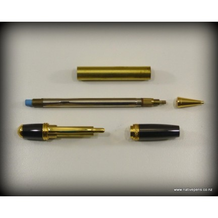 Sierra Pencil Kit - Gold and Gun-metal Grey
