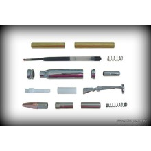 Bullet Click Pen Kit - Chrome