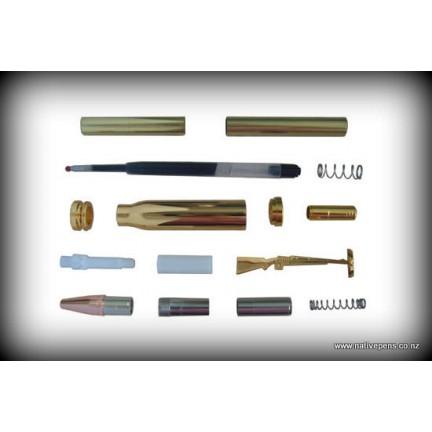 Bullet Click Pen Kit - Gold