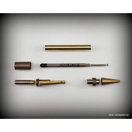 Professor Pen Kit - Antique Brass