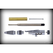 Stick Shift Pen Kit - Chrome