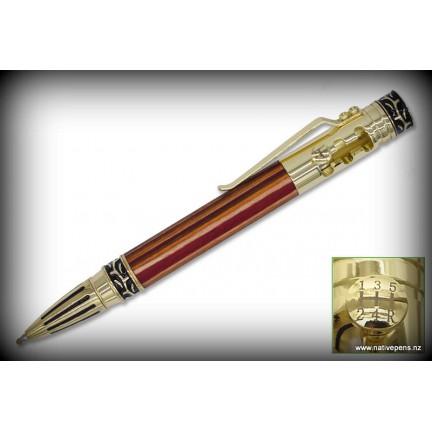 Stick Shift Pen Kit - Gold