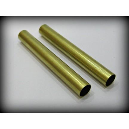 7mm Brass Tubes - Pair