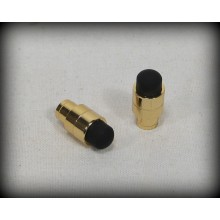 Touch Stylus Pen Cap - Gold