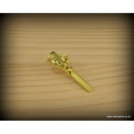 Pen Clips - Deer Gold