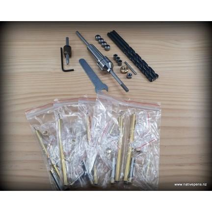 Deluxe Pen Turning Kit - Morse Taper #2