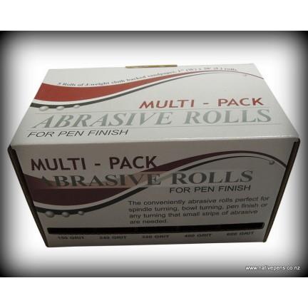 Multi-Roll Abrasive Pack