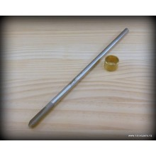 10mm 'U' Bowl Gouge Stb - Un-Handled